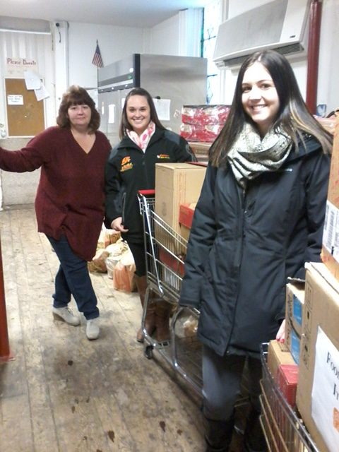 Wadhams Enterprise holds Holiday Food Drive