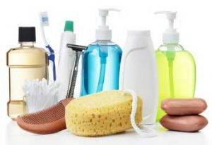 Groups Donate Personal Care Products