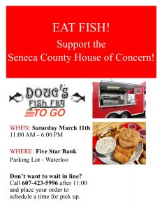 Doug's Fish Fry - Saturday March 11th