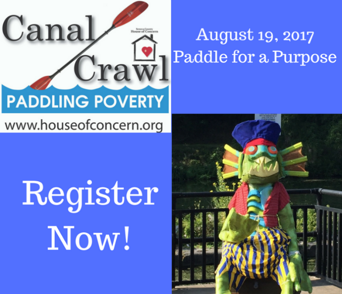 Canal Crawl Paddling Poverty – Register Now!