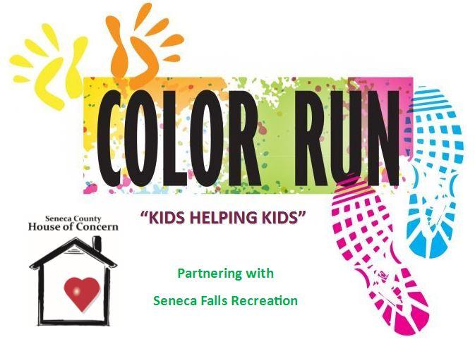 Color Run – 'Kids Helping Kids' – Register NOW!