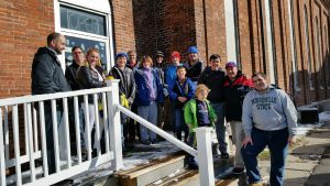 Cub Scouts Deliver Food Drive Donatioins