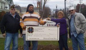 VFW Holiday Donation