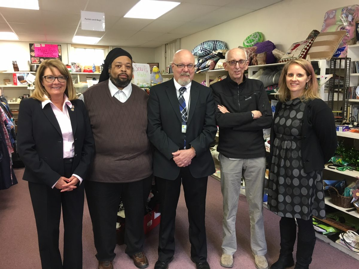Senator Helming Tours House of Concern