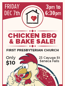 """""""Bedford Falls"""" Chicken BBQ & Bake Sale"""