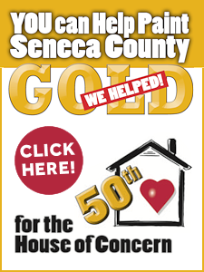 Help Us Paint Seneca County Gold
