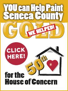 Help Us Paint Seneca County Gold
