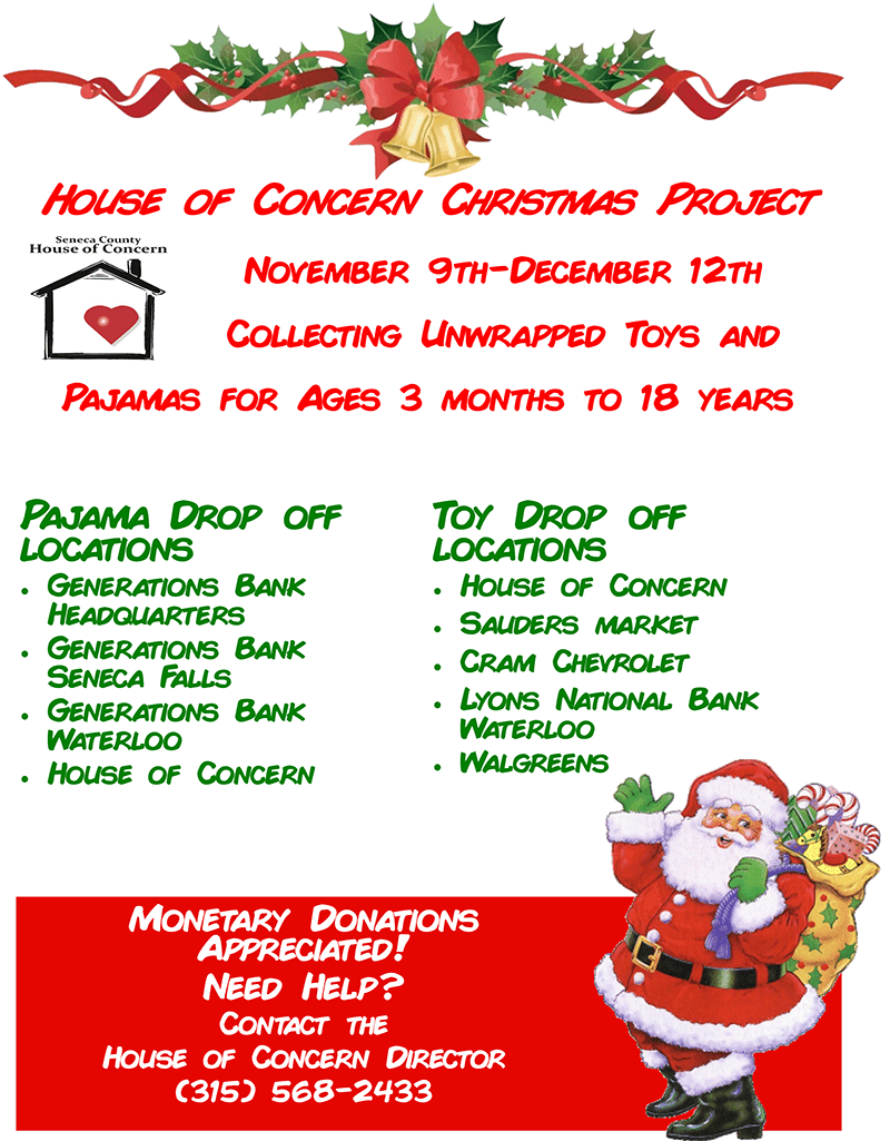 House of Concern Christmas Project